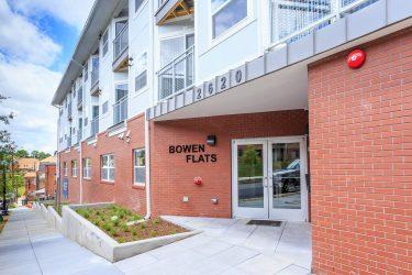 Bowen Flats Entrance