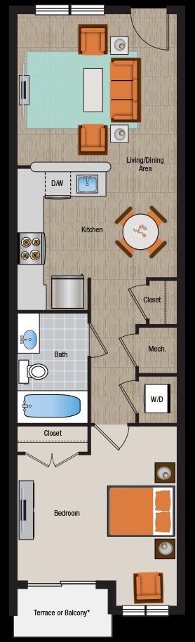 Apartment 1A